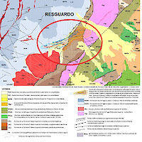 Resguardo geological setting